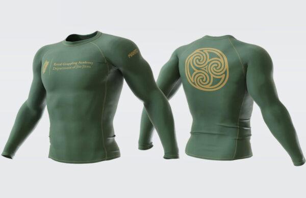Green long sleeve rashguard